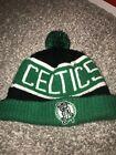 NBA Adult Boston Celtics Official Licenced '47 Sport Knit Beanie Bobble Hat