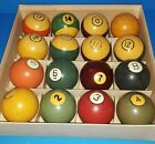 Vintage Pool Balls Used Collectible Miscellaneous