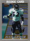 Ray Lewis Rookie Cards and Autograph Memorabilia Guide 28