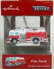Hallmark Hasbro Tonka Fire Truck Christmas Tree Ornament New Mint in Box 2018