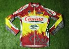 CYCLING SHIRT JERSEY MAGLIA CAMISETA CASINO AG2R NALINI COLNAGO PEUGEOT SIZE 3