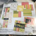 Mod Fresh Paisley by Autumn Leaves Scrapbooking page Kit New