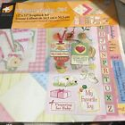 Welcome Baby Girl by Hot Off Press Scrapbooking page Kit New