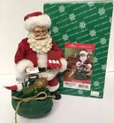 Fabriche SANTA Golf Lover Figure Kurt S Adler TEE Rific Gifts Possible Dreams