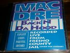 Mac Dre – Back N Da Hood -1992 OG Press CD Album -Recorded From Jail -Bay Area