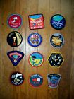 Vintage NASA Patch SET of 12 APOLLO Missions Emblem Set