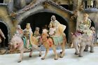 Fontanini 5 Scale Nativity 3 KINGS On ANIMALS SET  Elephant Horse Camel