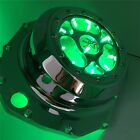 Green LED See through Engine Clutch Cover For Suzuki GSX1300R Hayabusa B-king CD