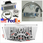 High Performance USA Shipping Motorcycle ATVs Oil Cooler Radiator For 50cc 110cc
