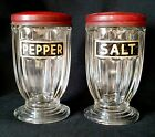 Pepper Shakers Red Lids