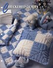 Checkered Quilts  Pillows Baby Afghan Sets Annies crochet pattern leaflet