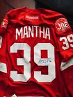 Detroit Red Wings Anthony Mantha Autographed Signed NHL Reebok Jersey COA