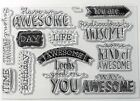 C1644 BEYOND AWESOME uplifing words encouragement birthday celebrate CTMH