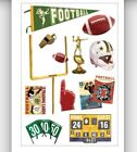 Tailgating party college Football Pop warner NFL Momenta scrapbooking Stickers