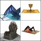 Game of Thrones Pop Up Cards, 3D Pop Up Greeting Cards Game of Thrones, Birthday
