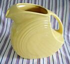 Fiestaware Fiesta Large 64 oz. DISC PITCHER, RETIRED YELLOW