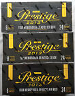 3 x NFL 2013 Panini Prestige Football Hobby Box NFL Sealed 4 Hits Car or Memo