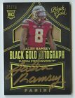 2016 Panini Black Gold Football Cards 15
