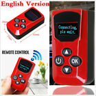 For Car Diesel Air Parking Heater LCD Monitor Switch Remote Control Red English