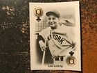 Lou Gehrig 2000 USPC All Century Team Playing Card RARE SQUARE CUT PROOF