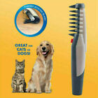 US Electric Dog Cat Grooming Comb Shaver Groomer Pet Hair Scissor Trimmer Brush
