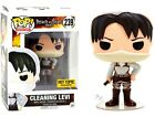 Attack on Titan Funko POP! Animation Cleaning Levi Exclusive Vinyl Figure #239