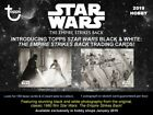 Star Wars 2019 Black & White Trading Card HOBBY Box [7 Packs]