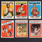 1971 - 72 Topps Basketball lot of 30 cards with stars