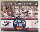 2011 PLAYOFF CONTENDERS FOOTBALL SEALED HOBBY BOX 4 AUTO 24 PACKS PER BOX