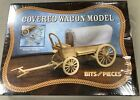 BITS AND PIECES - COVERED WAGON WOOD/WOODEN MODEL #42526 - NEW SEALED