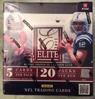 2012 PANINI ELITE FOOTBALL SEALED HOBBY BOX 20 PACKS PER BOX LUCK,WILSON RC
