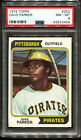 1974 Topps #252 Dave Parker RC PSA 8 +++ Looks Nicer Centered Pittsburgh Pirates
