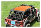 Steinjager Full TeddyTop Solar Screen Orange Wrangler JK 4dr J0041465