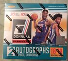 2018-19 DONRUSS BASKETBALL SEALED HOBBY BOX 2 AUTO'S 10 PACKS LOADED