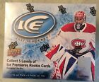 2017-18 UD ICE HOCKEY SEALED HOBBY BOX 5 LEVELS OF ICE PREMIERES 2 PER BOX 6PX