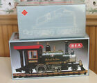 REA G SCALE GREAT NORTHERN RAILROAD 2 4 2 STEAM ENGINE and TENDER  IN BOXES
