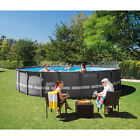 22FT Swimming Pool Intex 22 x 52 Frame Above Ground Set Best Large Kit Pools