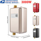 3000W 110V Tankless Instant Electric Hot Water Heater Kitchen Bathroom Shower US