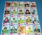1973 PITTSBURGH STEELERS COMPLETE TOPPS TEAM SET 25 CARDS FRANCO HARRIS RC