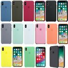 Original Silicone Case OEM Back Cover for Apple iPhone X XR XS Max 6 7 8 Plus