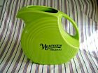 FIESTA ware Chartreuse Green Large Disc Disk Pitcher 2000 Millennium Retired