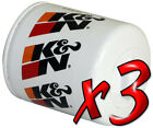 3 Pack Oil Filters Pro Series KN HP 1002