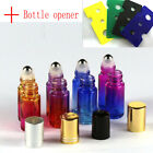 Opener Gradient Glass Roll  Metal Roller Ball Essential Oil