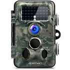 APEMAN Trail Camera 12MP 1080P HD Wildlife Camera 130° Wide Angle Lens 120° 42