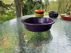 FIESTA 2 QUART EXTRA LARGE SERVING BOWL mulberry purple NEW
