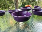 FIESTA LARGE 1 QUART SERVING BOWL mulberry purple NEW