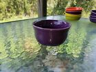 GUSTO BOWL mulberry purple HOMER LAUGHLIN FIESTA 23 OZ. NEW