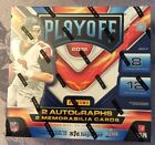 2018 PANINI PLAYOFF FOOTBALL HOBBY BOX SEALED SHIPS FAST LOADED 4 HITS PER