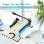 Heavy Duty Guillotine Paper Cutter 13Inch Commercial Steel A4 Trimmer High Speed