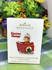 Hallmark Merry Christmas Curious George ornament 2010 New